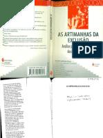 TEXTO 5 - Sawaia, B. (2013) Introdução Exclusão Ou Inclusão Perversa in Sawaia, B. B. (Org.)