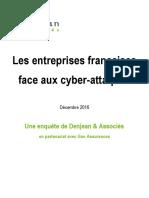 Les entreprises françaises face aux cyber-attaques