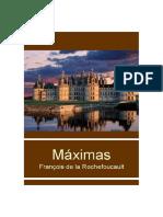 Maximas de Francois de La Rochefoucault