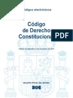 BOE Codigo de Derecho Constitucional
