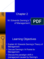 Chapter 2 Deming