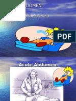 7269550 Acute Abdomen