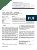 Oxidación Parcial Biomasa