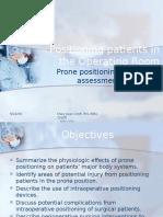 postioning patients prone.pptx
