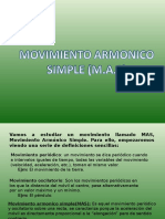 Movimiento Armonico Simple (1)
