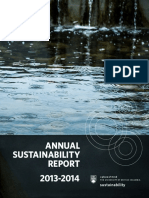 2013 2014 Annual Sustainability Report