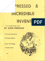 Suppressed & Incredible Inventions by John Freeman (1976 by a.H. Fry)