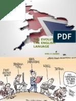 linguistic english language changes