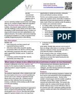 capstone mentoring document