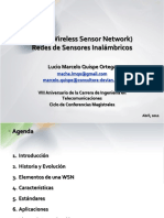 WSN (Wireless Sensor Network) Redes de Sensores Inalámbricos