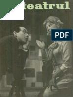 Revista Teatrul, nr. 1, anul X, ianuarie 1965