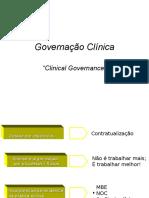 GESTAO Governação Clínica