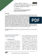 Demandas Fisiologicas Espacios Reducidos vs Competicion