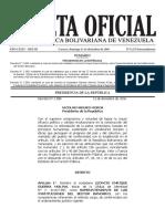 Gaceta Oficial Nº6.275 - Notilogía