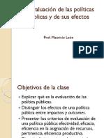 5. La Evaluación de Las Políticas Públicas
