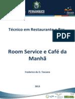 Apostila Room Service e Café da Manhã