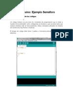 Tutorial Arduino - Ejemplos Semaforo