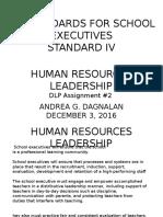 human resources  dlp assignment
