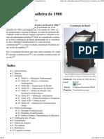 Constituição Brasileira de 1988 – Wikipédia, A Enciclopédia Livre