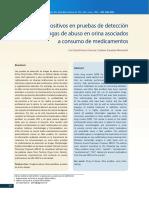 Falsospositivos en Antidoping