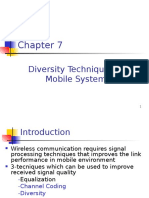 Diversity Technique for Mobile Radio System