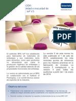 Intertek_Flyer_Curso de Formación_Fundamentos de Calidad e Inocuidad de Envases Según BRC LoP v. 5_Esp 2015 Cl