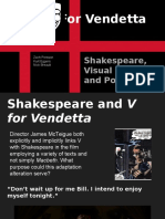 V for Vendetta Presentation