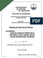 Proyecto de Instalacion Electrica