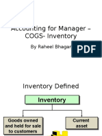 Lecture 09 - COGS Inventory