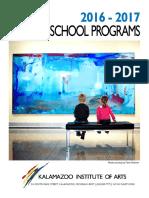 2016 Educators Packet