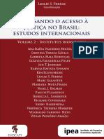 Repensando o Acesso à Justiça No Brasil Estudos Internacionais Volume 2 Final