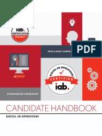 IAB Digital Ad Operations Certification Candidate Handbook