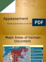 appeasement powerpoint