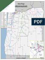 Oregon Rail Map