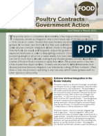 Abusive Poultry Contracts Require Government Action