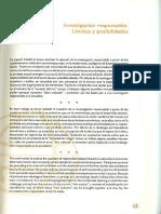 13.Investigación Responsable. Límites y Posibilidades (1)