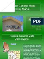 Diagnostico situacional Hospital Mixto