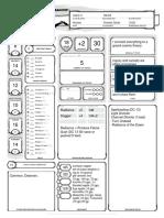 Character Sheet - Leilani