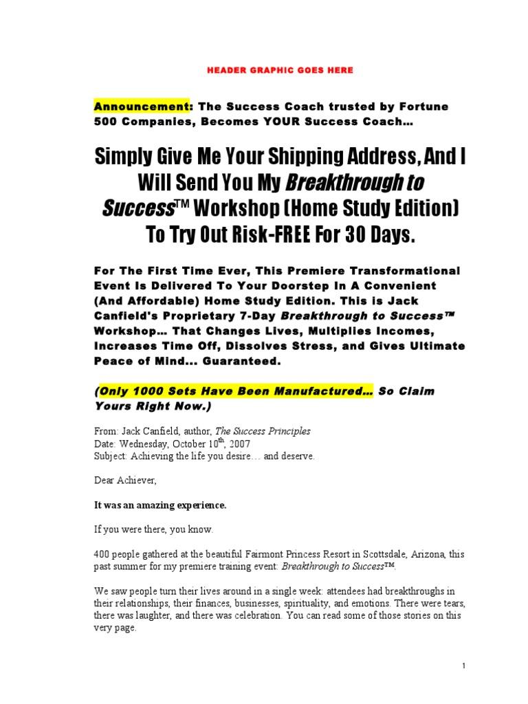 Workbooks success principles workbook : BTS.home.Study.sales.letter | Motivation | Self-Improvement