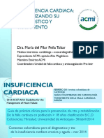 Insuficiencia Cardiaca Congestiva - Dra María Del Pilar Peña