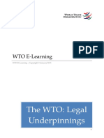 Wto Learning Module