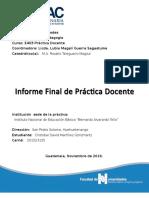 Portada Practica Docente 2013