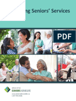 Office of the Seniors Advocate 2016 Monitoring Seniors' Services Report