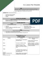 CLIL Lesson Plan Multiplication- Marcela López