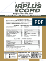 march 2017 surplus record machinery equipment directory