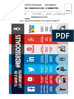 EXAMEN III BIMESTRE DE COMUNICACIÓN SEGUNDO 2016.docx