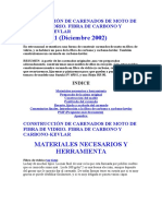 Construcción De Carenados De Moto De Fibra De Vidrio.doc