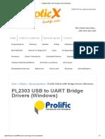 Como Configurar PL2303 USB to UART Bridge Drivers