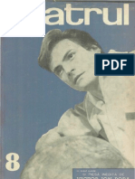 Revista Teatrul, nr. 8, anul X, august 1965