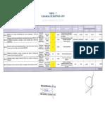 Plan Anual de Objetivos - 2015